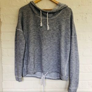 Aerie | Gray Hooded Sweatshirt
